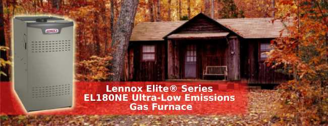 Lennox Elite® Series EL180NE Ultra-Low Emissions Gas Furnace